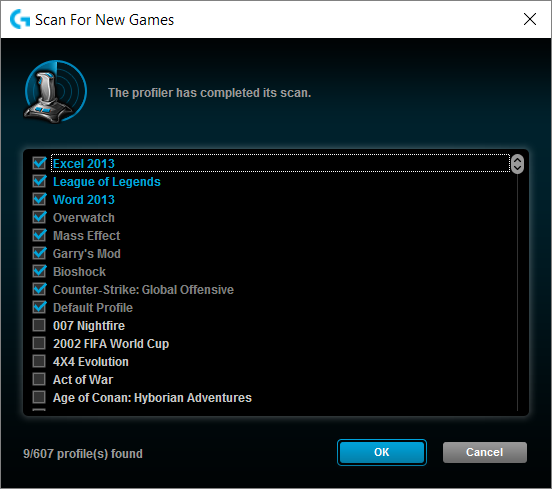 Logitech Gaming Software League of Legends Profile Found