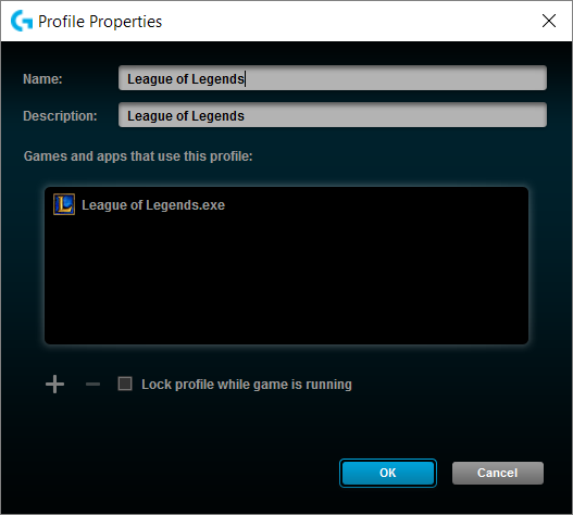 Logitech Gaming Software Executable Found