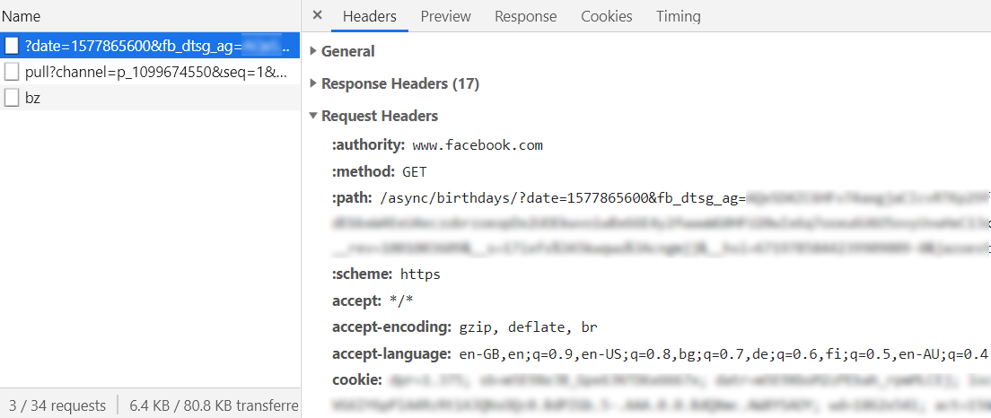 Chrome Dev Tools XHR Monitor
