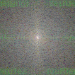 Fourier Secret Image