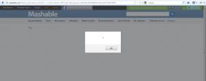 Mashable XSS Vulnerability