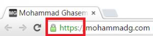 HTTPS Secure Chrome Lock